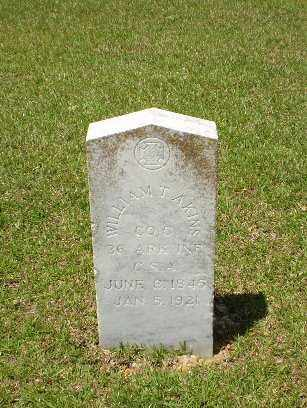 AKINS (VETERAN CSA), WILLIAM T - Craighead County, Arkansas | WILLIAM T AKINS (VETERAN CSA) - Arkansas Gravestone Photos