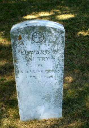 AUTRY  (VETERAN), EDWARD P - Craighead County, Arkansas | EDWARD P AUTRY  (VETERAN) - Arkansas Gravestone Photos
