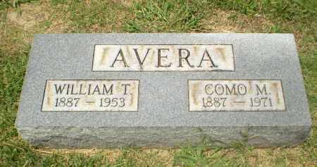 AVERA, WILLIAM T - Craighead County, Arkansas | WILLIAM T AVERA - Arkansas Gravestone Photos