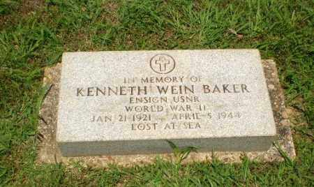 BAKER  (VETERAN WWII, KIA), KENNETH WEIN - Craighead County, Arkansas | KENNETH WEIN BAKER  (VETERAN WWII, KIA) - Arkansas Gravestone Photos