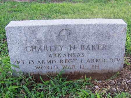 BAKER(VETERAN WWII), CHARLEY N. - Craighead County, Arkansas | CHARLEY N. BAKER(VETERAN WWII) - Arkansas Gravestone Photos