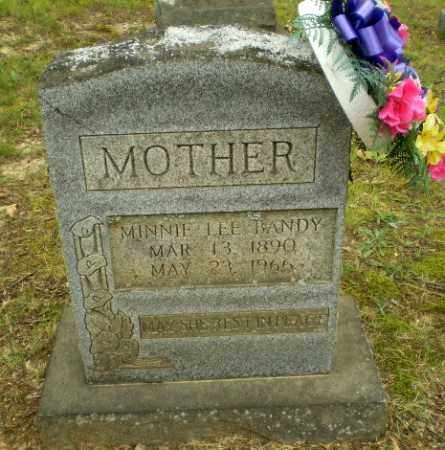 LEE BANDY, MINNIE - Craighead County, Arkansas | MINNIE LEE BANDY - Arkansas Gravestone Photos