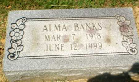 BANKS, ALMA - Craighead County, Arkansas | ALMA BANKS - Arkansas Gravestone Photos