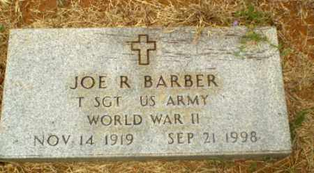 BARBER  (VETERAN WWII), JOE R - Craighead County, Arkansas | JOE R BARBER  (VETERAN WWII) - Arkansas Gravestone Photos