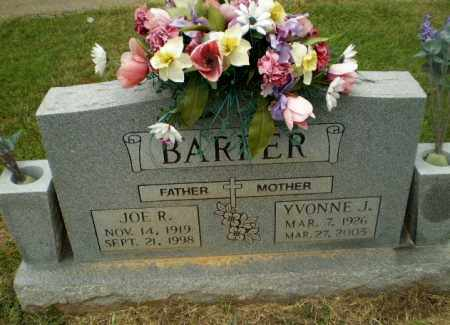 BARBER, YVONNE J - Craighead County, Arkansas | YVONNE J BARBER - Arkansas Gravestone Photos