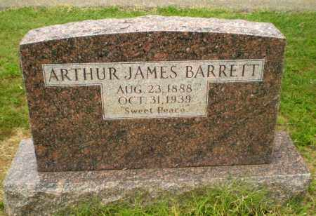 BARRETT, ARTHUR JAMES - Craighead County, Arkansas | ARTHUR JAMES BARRETT - Arkansas Gravestone Photos