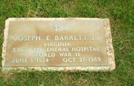 BARRETT, JR (VETERAN WWII), JOSEPH E - Craighead County, Arkansas | JOSEPH E BARRETT, JR (VETERAN WWII) - Arkansas Gravestone Photos