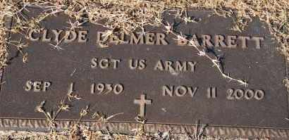 BARRETT (VETERAN), CLYDE DELMER - Craighead County, Arkansas | CLYDE DELMER BARRETT (VETERAN) - Arkansas Gravestone Photos