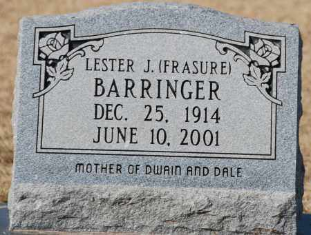 BARRINGER, LESTER J - Craighead County, Arkansas | LESTER J BARRINGER - Arkansas Gravestone Photos