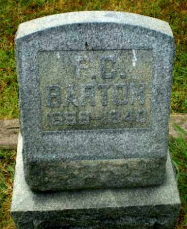 BARTON, P.C. - Craighead County, Arkansas | P.C. BARTON - Arkansas Gravestone Photos