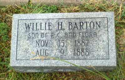 BARTON, WLLIE H - Craighead County, Arkansas | WLLIE H BARTON - Arkansas Gravestone Photos