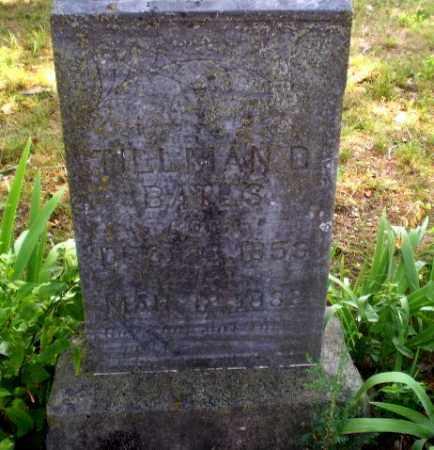 BATES, TILLMAN D - Craighead County, Arkansas | TILLMAN D BATES - Arkansas Gravestone Photos