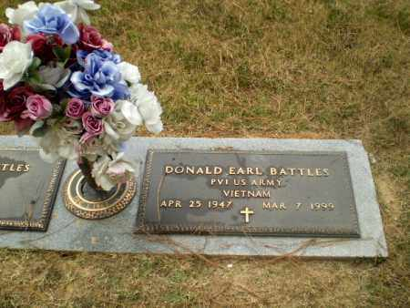 BATTLES  (VETERAN VIET), DONALD EARL - Craighead County, Arkansas | DONALD EARL BATTLES  (VETERAN VIET) - Arkansas Gravestone Photos