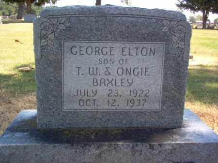 BAXLEY, GEORGE ELTON - Craighead County, Arkansas | GEORGE ELTON BAXLEY - Arkansas Gravestone Photos