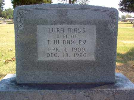 MAYS BAXLEY, LURA - Craighead County, Arkansas | LURA MAYS BAXLEY - Arkansas Gravestone Photos