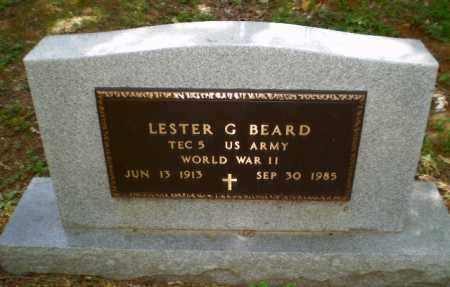 BEARD  (VETERAN WWII), LESTER G - Craighead County, Arkansas | LESTER G BEARD  (VETERAN WWII) - Arkansas Gravestone Photos