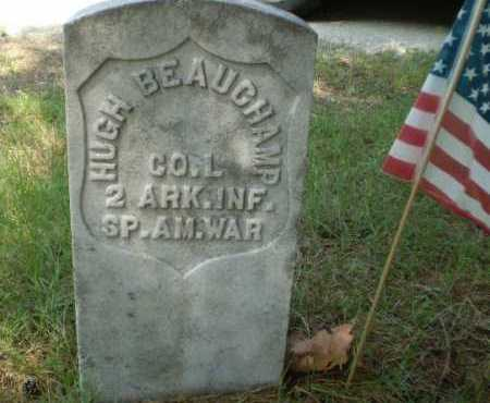 BEAUCHAMP  (VETERAN SAW), HUGH - Craighead County, Arkansas | HUGH BEAUCHAMP  (VETERAN SAW) - Arkansas Gravestone Photos