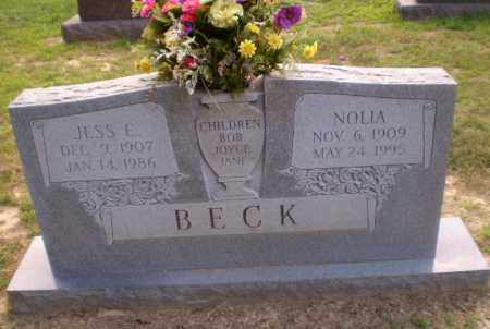 BECK, NOLIA - Craighead County, Arkansas | NOLIA BECK - Arkansas Gravestone Photos