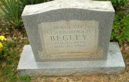 SCARBOROUGH BEGLEY, JEANETTE - Craighead County, Arkansas | JEANETTE SCARBOROUGH BEGLEY - Arkansas Gravestone Photos