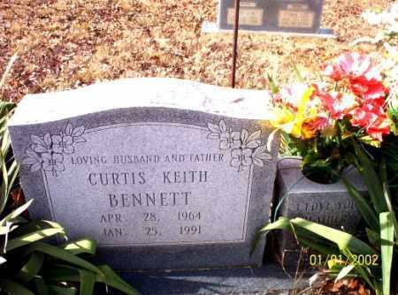 BENNETT, CURTIS  KEITH - Craighead County, Arkansas   CURTIS  KEITH BENNETT - Arkansas Gravestone Photos