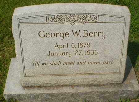 BERRY, GEORGE W - Craighead County, Arkansas | GEORGE W BERRY - Arkansas Gravestone Photos