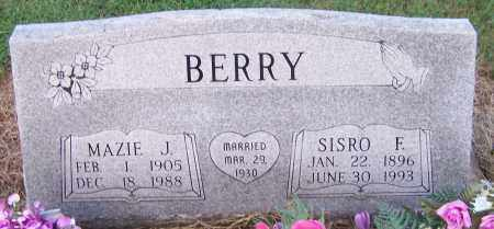 BERRY, SISRO F. - Craighead County, Arkansas | SISRO F. BERRY - Arkansas Gravestone Photos
