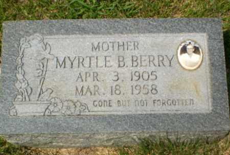BERRY, MYRTLE B - Craighead County, Arkansas | MYRTLE B BERRY - Arkansas Gravestone Photos