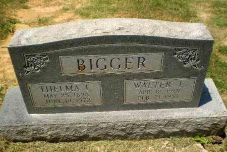 BIGGER, WALTER L - Craighead County, Arkansas | WALTER L BIGGER - Arkansas Gravestone Photos