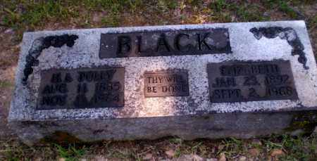 BLACK, ELIZABETH - Craighead County, Arkansas | ELIZABETH BLACK - Arkansas Gravestone Photos