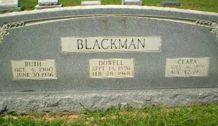 BLACKMAN, DOWELL - Craighead County, Arkansas | DOWELL BLACKMAN - Arkansas Gravestone Photos