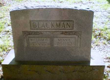 BLACKMAN, WILLIAM G - Craighead County, Arkansas | WILLIAM G BLACKMAN - Arkansas Gravestone Photos