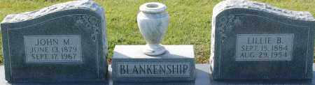 BLANKENSHIP, JOHN M - Craighead County, Arkansas | JOHN M BLANKENSHIP - Arkansas Gravestone Photos