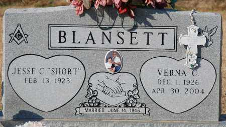 BLANSETT, VERNA C - Craighead County, Arkansas | VERNA C BLANSETT - Arkansas Gravestone Photos