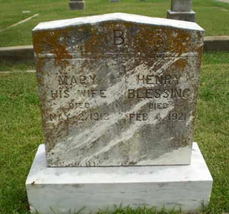 BLESSING, HENRY - Craighead County, Arkansas | HENRY BLESSING - Arkansas Gravestone Photos