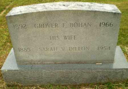 BOHAN, GROVER F - Craighead County, Arkansas | GROVER F BOHAN - Arkansas Gravestone Photos