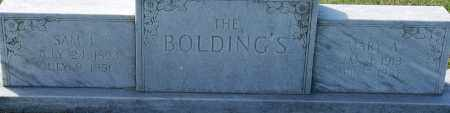 BOLDING, SAM L. - Craighead County, Arkansas | SAM L. BOLDING - Arkansas Gravestone Photos