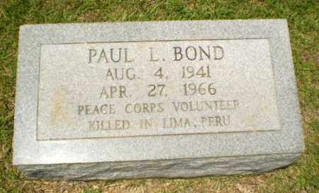BOND, PAUL L - Craighead County, Arkansas | PAUL L BOND - Arkansas Gravestone Photos