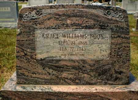 WILLIAMS BOON, GRACE - Craighead County, Arkansas | GRACE WILLIAMS BOON - Arkansas Gravestone Photos