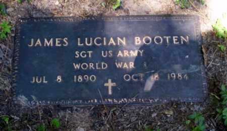 BOOTEN  (VETERAN WWI), JAMES LUCIAN - Craighead County, Arkansas | JAMES LUCIAN BOOTEN  (VETERAN WWI) - Arkansas Gravestone Photos