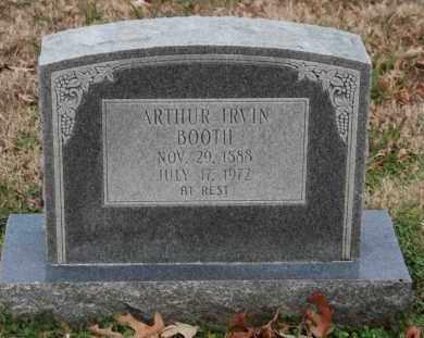 BOOTH, ARTHUR IRVIN - Craighead County, Arkansas | ARTHUR IRVIN BOOTH - Arkansas Gravestone Photos
