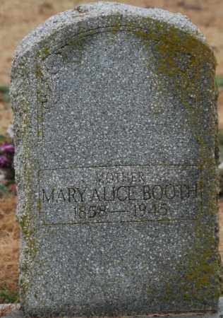 BOOTH, MARY ALICE - Craighead County, Arkansas | MARY ALICE BOOTH - Arkansas Gravestone Photos