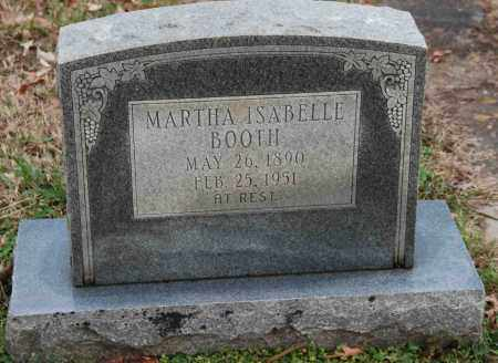 BOOTH, MARTHA ISABELLE - Craighead County, Arkansas | MARTHA ISABELLE BOOTH - Arkansas Gravestone Photos