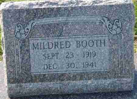BOOTH, MILDRED - Craighead County, Arkansas | MILDRED BOOTH - Arkansas Gravestone Photos