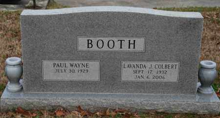 BOOTH, PAUL WAYNE - Craighead County, Arkansas | PAUL WAYNE BOOTH - Arkansas Gravestone Photos