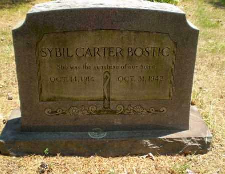 BOSTIC, SYBIL - Craighead County, Arkansas | SYBIL BOSTIC - Arkansas Gravestone Photos