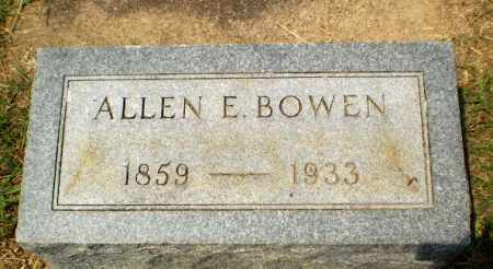 BOWEN, ALLEN E. - Craighead County, Arkansas | ALLEN E. BOWEN - Arkansas Gravestone Photos