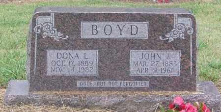 BOYD, JOHN T - Craighead County, Arkansas | JOHN T BOYD - Arkansas Gravestone Photos