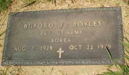 BOYLES  (VETERAN KOR), BUFORD F - Craighead County, Arkansas | BUFORD F BOYLES  (VETERAN KOR) - Arkansas Gravestone Photos