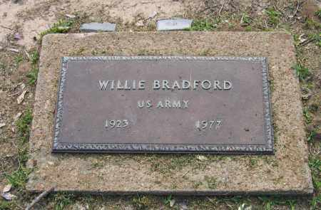 BRADFORD (VETERAN), WILLIE - Craighead County, Arkansas | WILLIE BRADFORD (VETERAN) - Arkansas Gravestone Photos