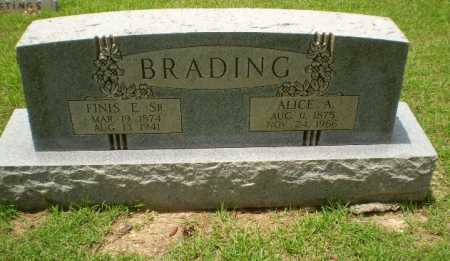 BRADING, FINIS E - Craighead County, Arkansas | FINIS E BRADING - Arkansas Gravestone Photos